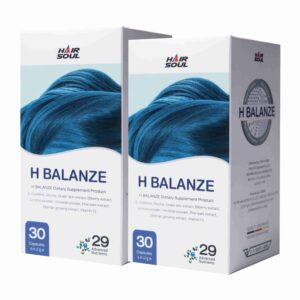 ยาปลูกผม Hair Soul - H Balanze ยาปลูกผมสมุนไพร 2 กระปุก